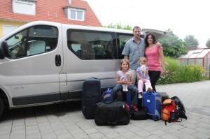 Abreise in München