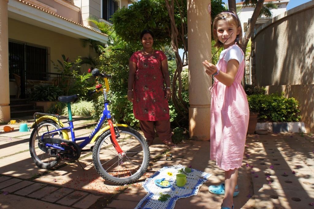 Fahrrad-Puja