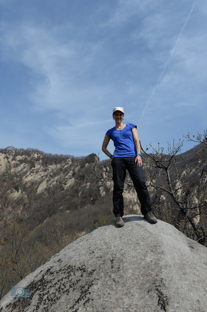 Bergsteigerin